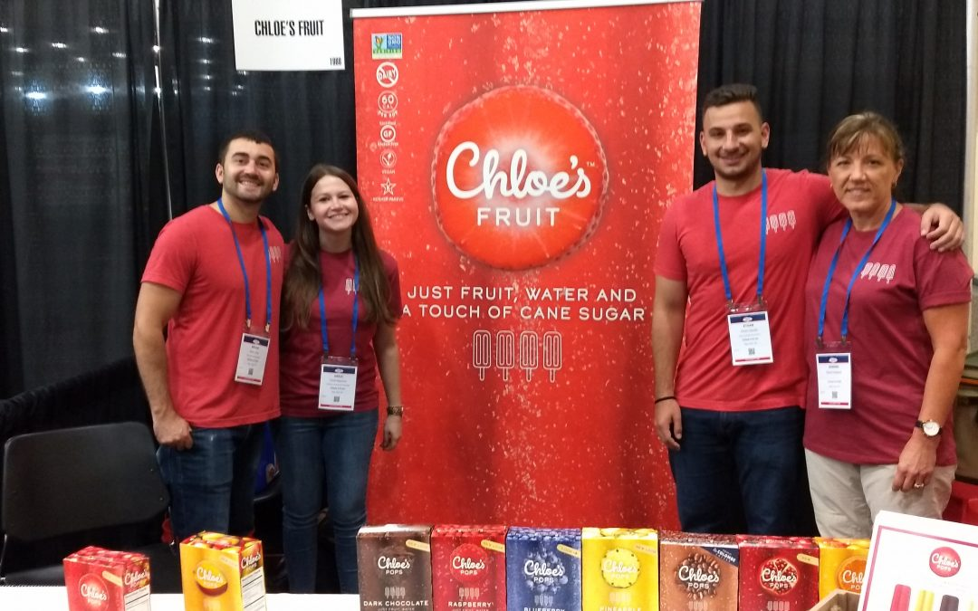 New Partnership with Chloe's Fruit Pops!